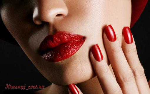 Красная помада для брюнеток - изысканность, ухоженность и роскошь современной леди