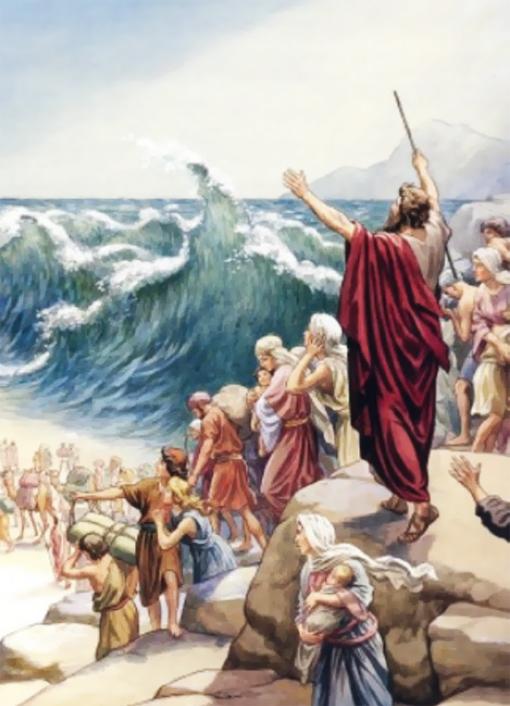 Почему Красное море называется красным - библейская версия