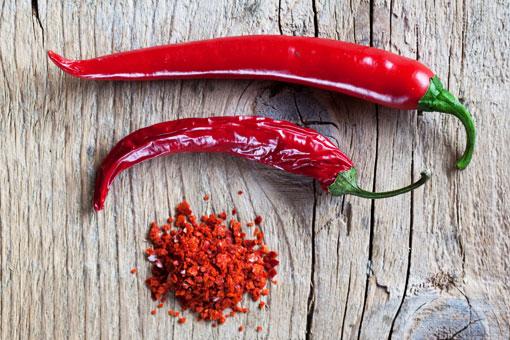 Острый красный перец чили