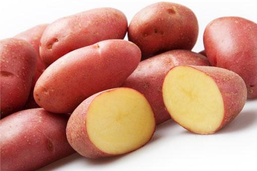 Полезные свойства красного картофеля
