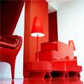 10 основных правил использования красного цвета в интерьере
