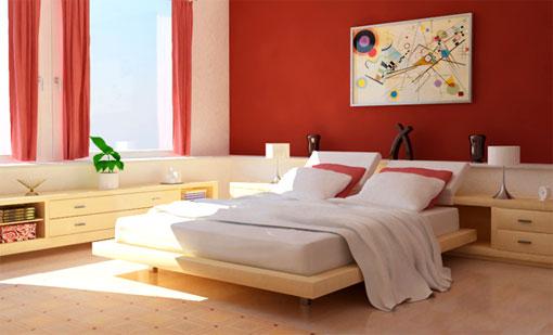 Красная спальня