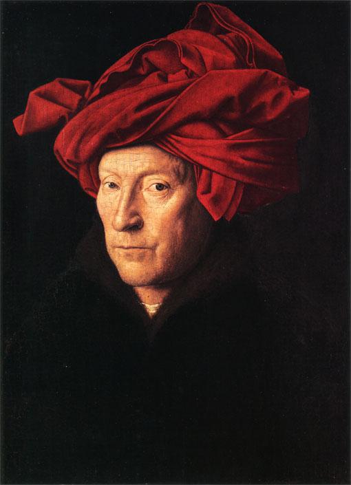 Портрет человека в тюрбане