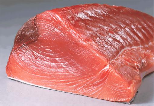 Красное мясо тунца