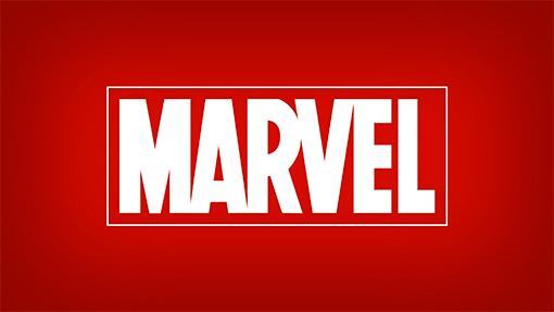 Красный логотип Marvel