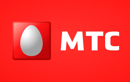 Красный логотип МТС