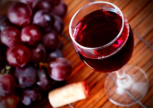 Красное вино кагор
