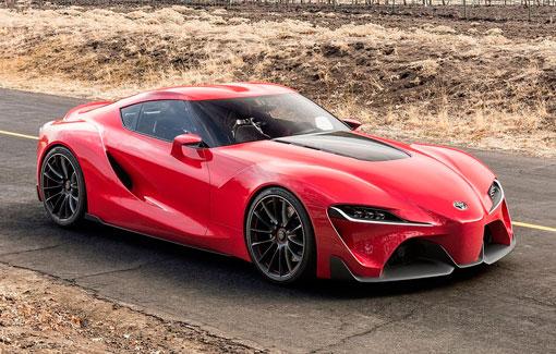 Красный спорткар FT-1