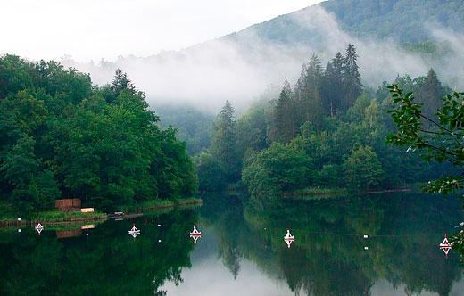 Озеро Красное в Румынии