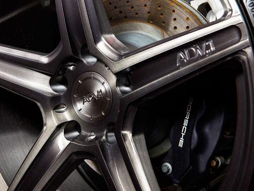 Эксклюзивные пятиспицевые колёсные диски ADV5.1 SL порш