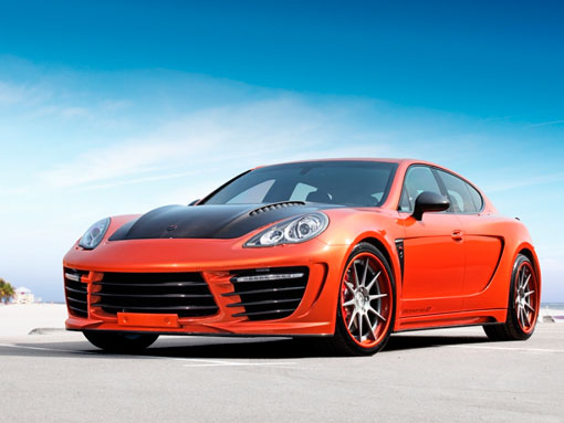 Тюнинг Porsche Panamera Stingray GTR