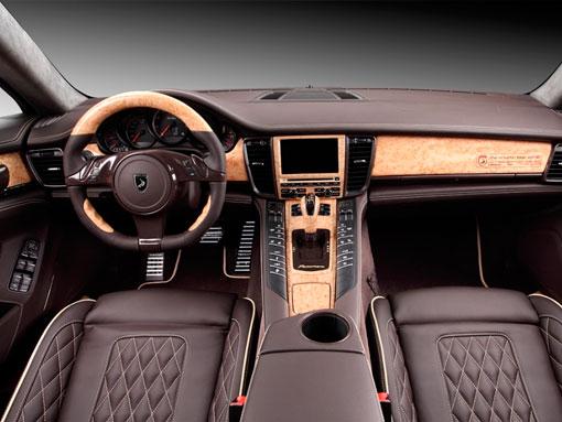 Салон Porsche Panamera Stingray GTR