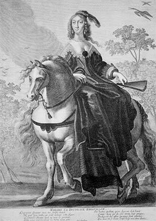 Парадный портрет герцогини д'Эгийон.