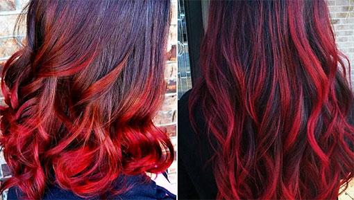 Красный цвет волос, оттенки и сочетания, правила их окрашивания