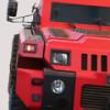 Бронированный красный автомобиль Hammer Marauder — танк, а не машина!