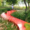 Удивительная скамья «Красная лента» — новое мировое чудо архитектуры Китая