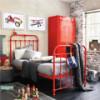 Как правильно сделать дизайн интерьера детской комнаты в красном цвете