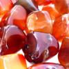 Красный сердолик — застывший в камне закат солнца