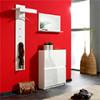 Как правильно сделать дизайн интерьера прихожей в красном цвете