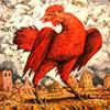 Пустить красного петуха – история возникновения устойчивого выражения