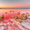 Кояшское красное озеро самое солёное и фантастическое в Крыму