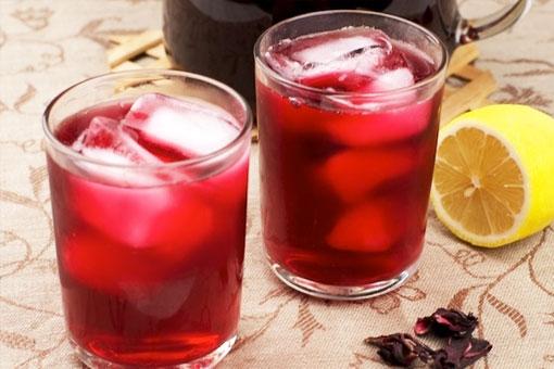 Красный чай каркадэ из суданской розы - напиток фараонов от всех болезней