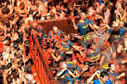 Фестиваль Ла Томатина – битва помидорами