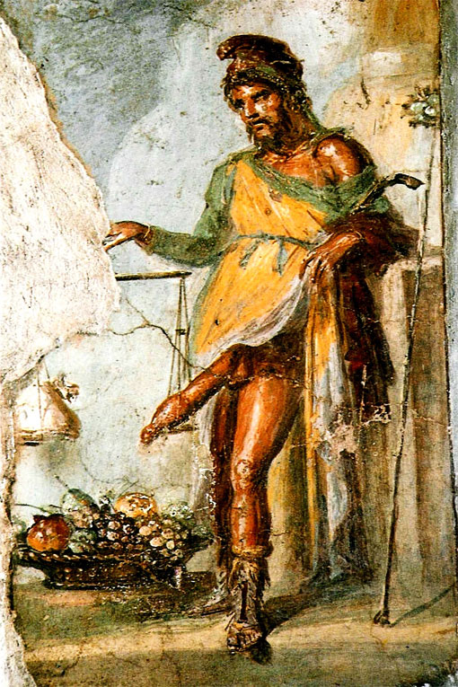 Бог плодородия Приап