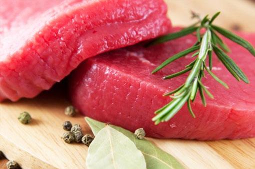 Красное меню из красных продуктов по группам крови