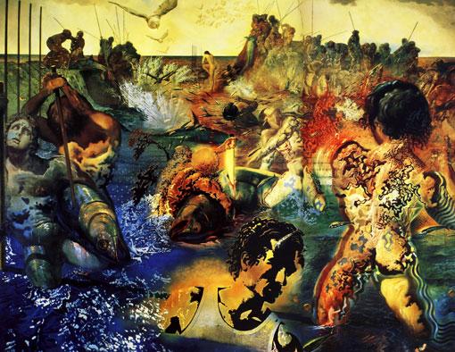"""Картина Сальвадора Дали """"Ловля тунца"""""""