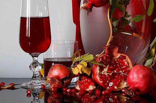 Как правильно пить гранатовый сок