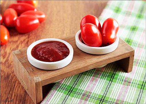 Домашний красный кетчуп