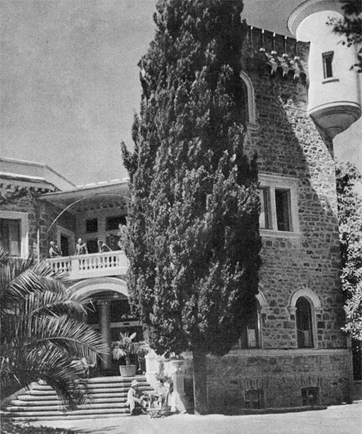 В 1924 году в особняке организовали дом отдыха «Красный штурм»