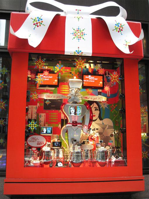 Правила оформления витрин магазинов и бутиков с использованием красного цвета