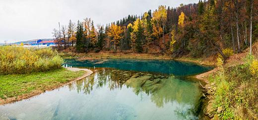 Родник Красный Ключ - уникальный памятник природы в Башкирии